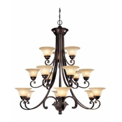 Dolan Lighting 1083-207 Brittany - Fiftenn Light 3 Tier Chandelier