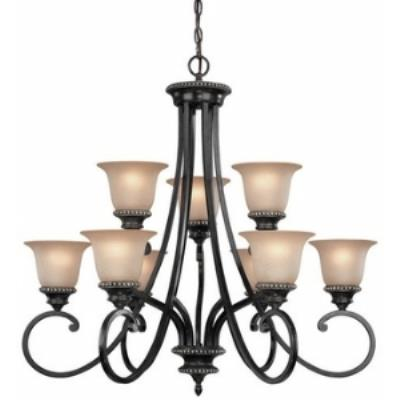 Dolan Lighting 1752-148 Hastings - Nine Light Two Tier Chandelier