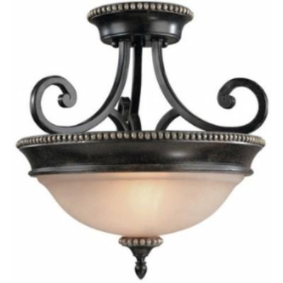 Dolan Lighting 1754-148 Hastings - Two Light Semi - Flush Mount