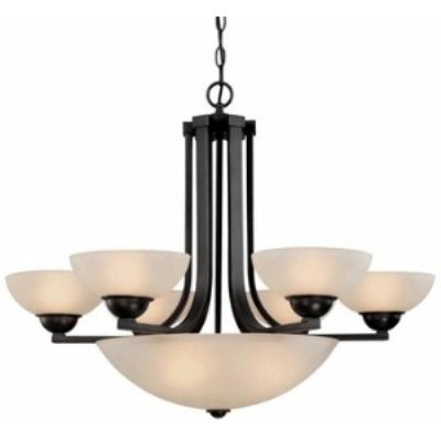 Dolan Lighting 205-78 Fireside - Nine Light Chandelier