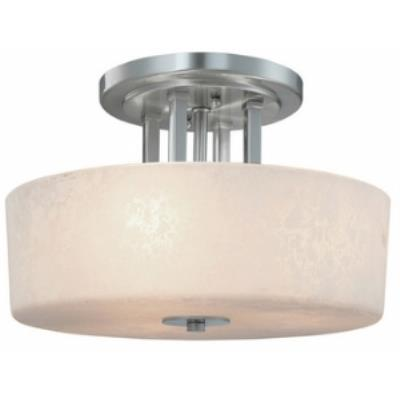 Dolan Lighting 2245-09 Uptown - Three Light Semi - Flush Mount
