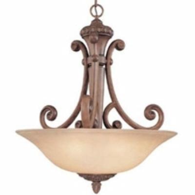 Dolan Lighting 2404-162 Carlyle - Three Light Pendant
