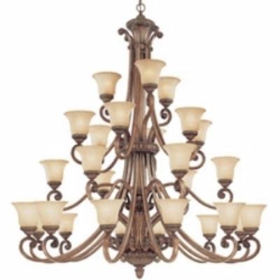 Dolan Lighting 2409-162 Carlyle - Twenty-Seven Light Four-Tier Chandelier
