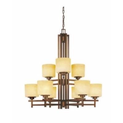 Dolan Lighting 2812 Roxbury - Nine Light Two Tier Chandelier