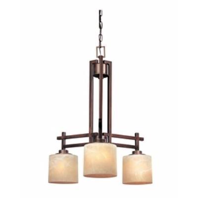 Dolan Lighting 2818-133 Roxbury- Three Light Chandelier