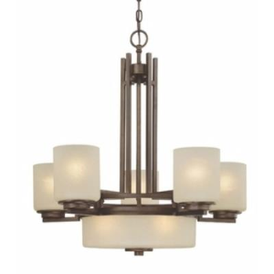 Dolan Lighting 2880-62 Multnomah - Eight Light Chandelier