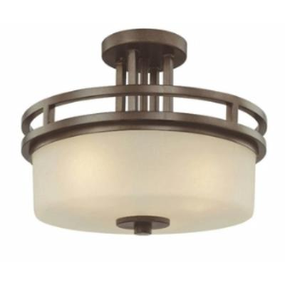 Dolan Lighting 2885-62 Multnomah - Three Light Semi-Flush Mount