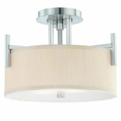 Dolan Lighting 2945-09 Tecido - Two Light Semi-Flush Mount