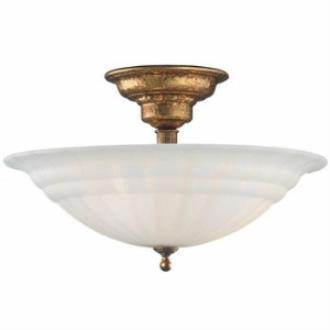 Dolan Lighting 310 Richland - Three Light Semi - Flush Mount