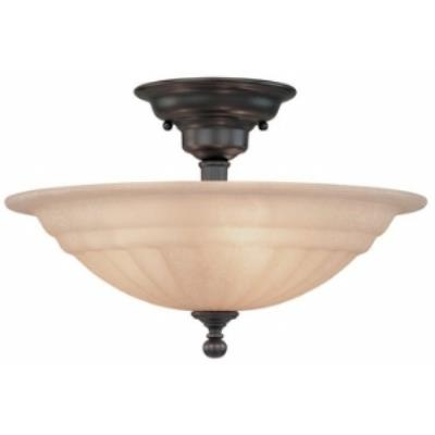 Dolan Lighting 310-78 Richland - Three Light Semi - Flush Mount