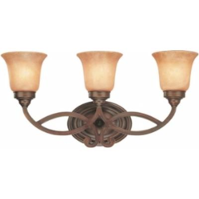Dolan Lighting 3103-133 Medici - Three Light Bath Bar