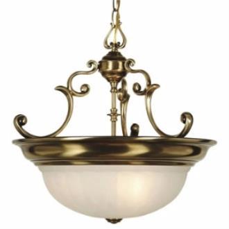 Dolan Lighting 527 Richland - Three Light Bowl Pendant
