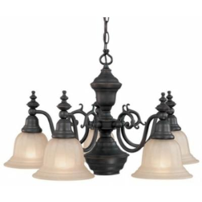 Dolan Lighting 660-78 Richland - Six Light Chandelier