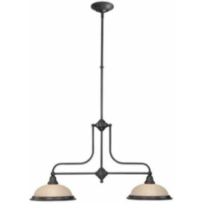 Dolan Lighting 662-78 Richland - Two Light Island Pendant