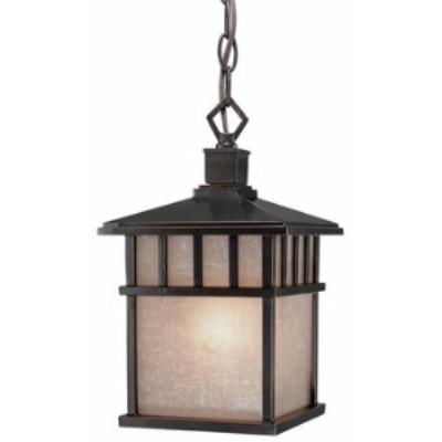 Dolan Lighting 9113-68 Barton - One Light Outdoor Pendant