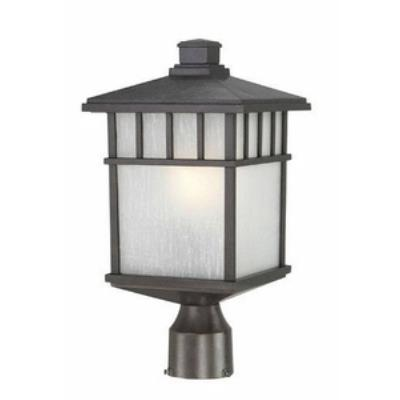 Dolan Lighting 9116-34 Barton - One Light Post Mount