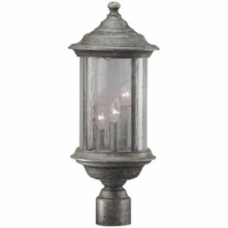 Dolan Lighting 918 Walnut Grove - Three Light Outdoor Post