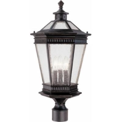Dolan Lighting 9199-68 Vintage - Three Outdoor Post Light