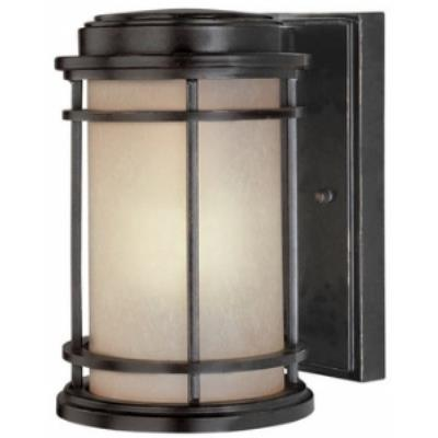 Dolan Lighting 9203-68 La Mirage - One Light Outdoor Wall Sconce