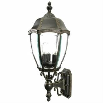 Dolan Lighting 953 Roseville - Three Light Outdoor Wall Lantern