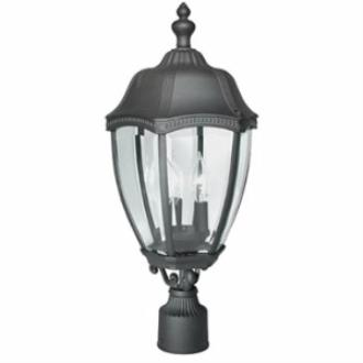 Dolan Lighting 955 Roseville - Three Light Outdoor Post Mount