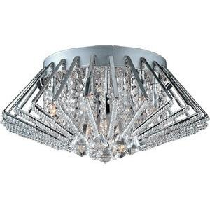Zen - Nine Light Flush Mount