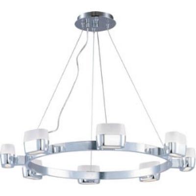 ET2 Lighting E21138-11PC Ellipse - Eight Light Pendant