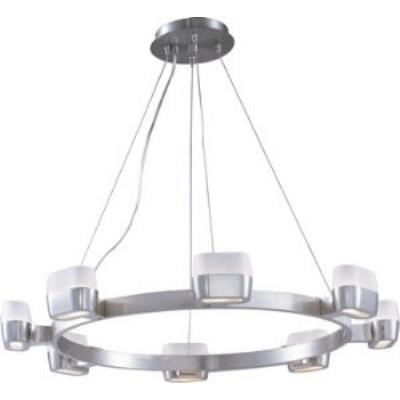 ET2 Lighting E21138-11SN Ellipse - Eight Light Pendant