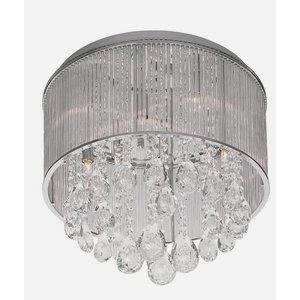 Gala - Nine Light Round Xenon Flush Mount