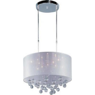 ET2 Lighting E22385-120PC Veil - Nine Light Pendant