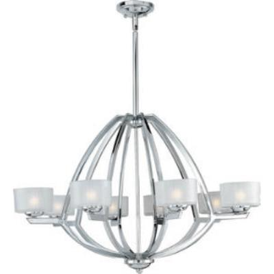 ET2 Lighting E22806-09PC Vortex - Eight Light Pendant