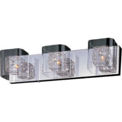 ET2 Lighting E22833-18PC Gem - Three Light Bath Vanity