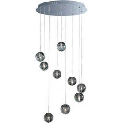 ET2 Lighting E24254-91PC Orb - Nine Light Pendant