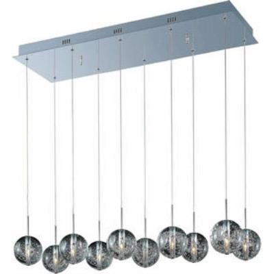 ET2 Lighting E24256-91PC Orb - Ten Light Pendant