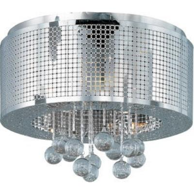 ET2 Lighting E24380-91PC Illusion - Five Light Flush Mount