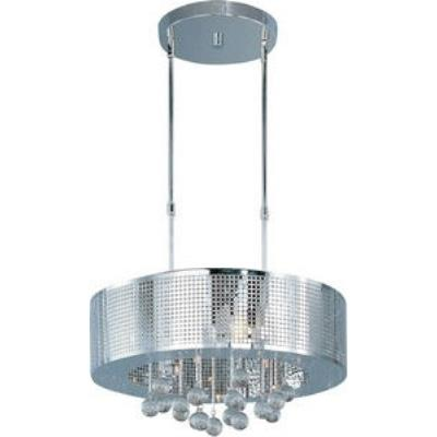 ET2 Lighting E24387-91PC Illusion - Nine Light Pendant