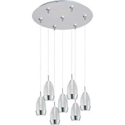 ET2 Lighting E93752-91SN Luxe - LED RapidJack Pendant and Canopy