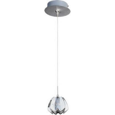 ET2 Lighting E94513-56SN Nickel Blossom 1-Light RapidJack Pendant and Canopy