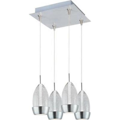 ET2 Lighting E94752-91SN Luxe - LED RapidJack Pendant