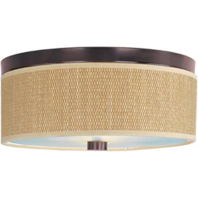 ET2 Lighting E95002-101OI Elements - Two Light Flush Mount