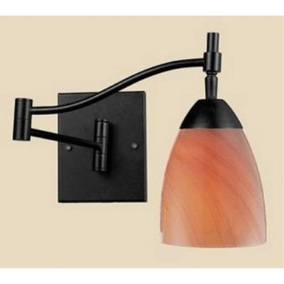 Elk Lighting 10151/1DR-SY Celina - One Light Swing Arm Wall Sconce
