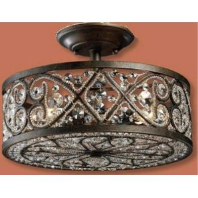 Elk Lighting 11286/4 Amherst - Four Light Semi-Flush Mount