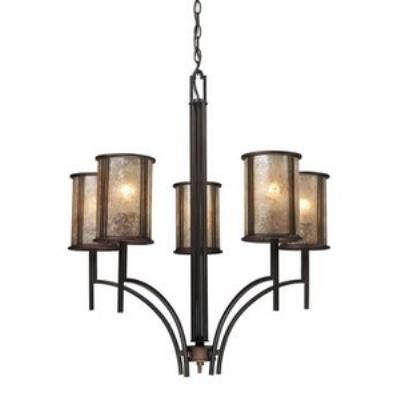 Elk Lighting 15035/5 Barringer - Five Light Chandelier