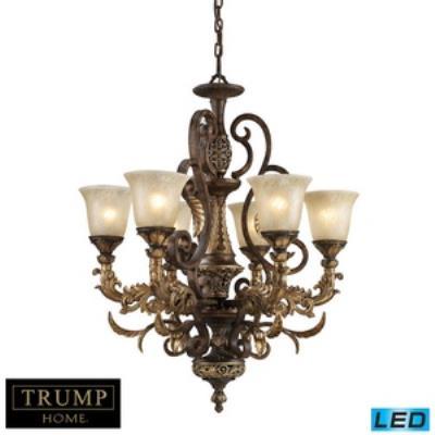 Elk Lighting 2163/6-LED Regency - Six Light Chandelier
