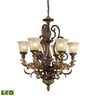 Elk Lighting 2163/6-LED Regency - Six Light Chandelier