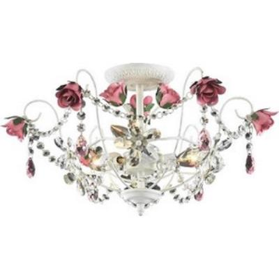 Elk Lighting 4052/3 Rosavita - Three Light Semi Flush Mount