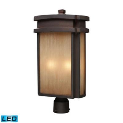 Elk Lighting 42144/2-LED Sedona - Two Light Outdoor Post