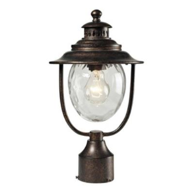 Elk Lighting 45032/1 Searsport - One Light Outdoor Post