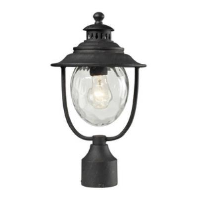 Elk Lighting 45042/1 Searsport - One Light Outdoor Post