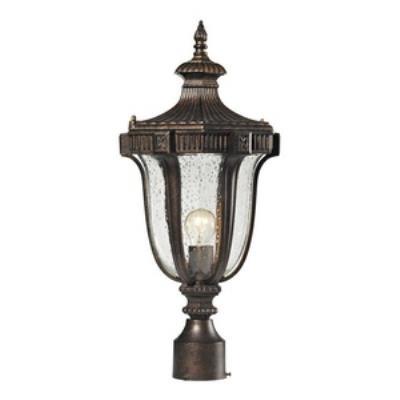 Elk Lighting 45062/1 Sturgess Castle - One Light Outdoor Post